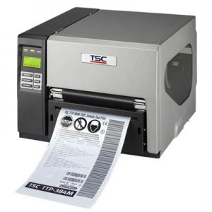TSC TTP-384M Industrial Barcode Printer